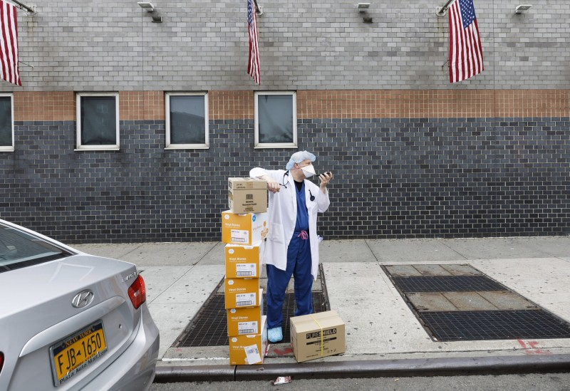 武漢肺炎》中國進口醫材仍須付關稅  智庫:恐癱瘓美國防疫能力