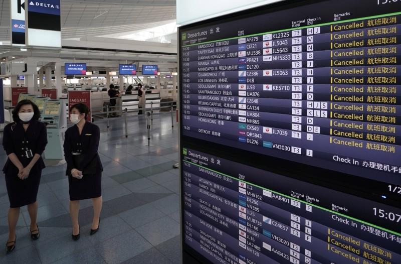 武漢肺炎》航空市場大洗牌!美暴跌近3成被中超越、印尼擠下日本