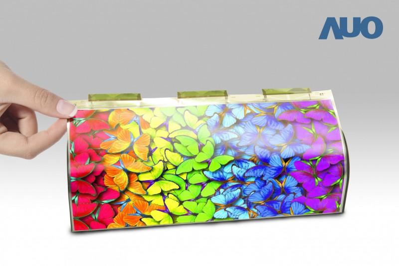 Micro Led時代來了!友達攜手錼創發表9.4吋柔性Micro Led顯示器