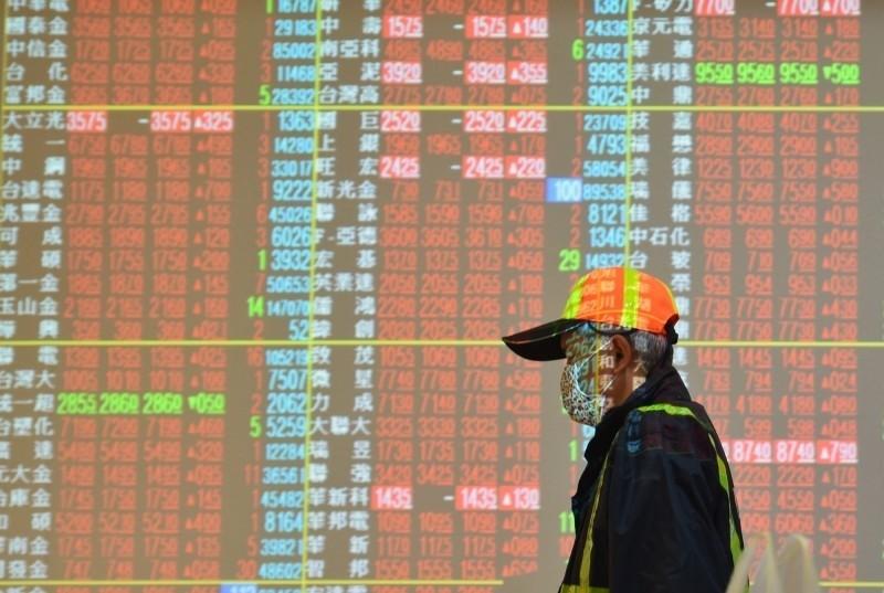 電子權值股漲勢收斂 台股收漲54點失守10800點