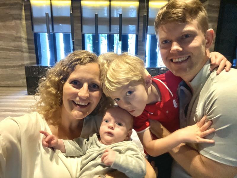 抗疫成功台庇護丹麥寶寶  外籍員工慶幸在台生產