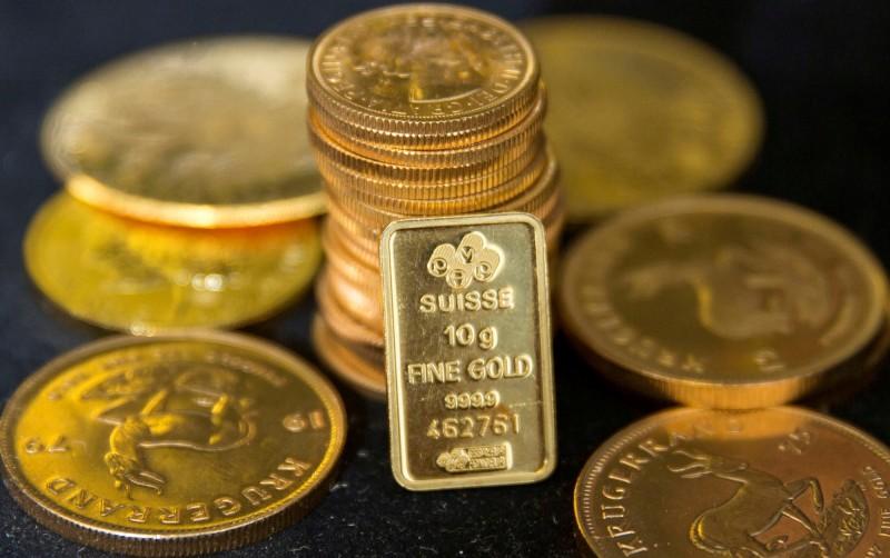 市場預期經濟復甦緩慢 黃金漲近9美元