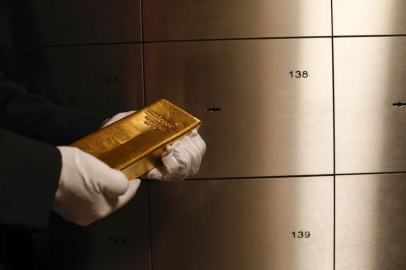 市場憧憬美國負利率 黃金漲近10美元