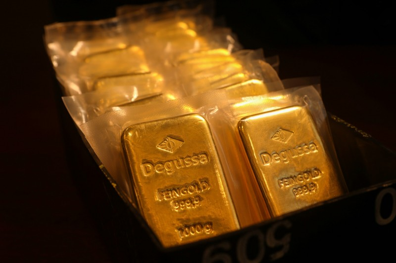 美經濟風險攀升 黃金漲至3週高點