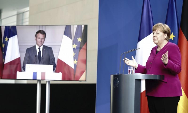 德法提5000億歐元復甦基金 協助歐盟嚴重疫區國家