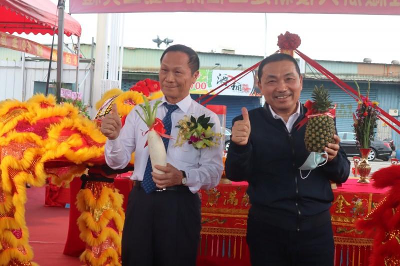 華固新莊廠辦2022完工 侯友宜讚:創900多個工作機會