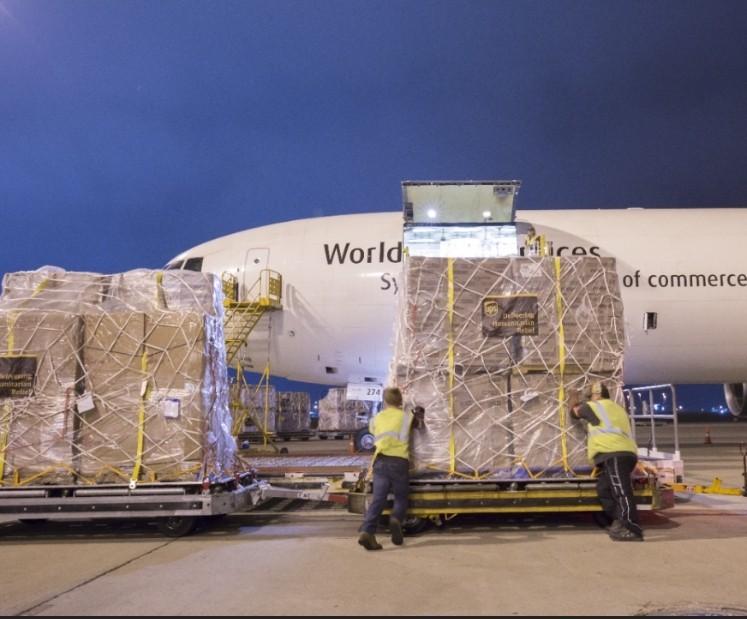 UPS:支援新北市將防疫物資運至歐美姐妹市