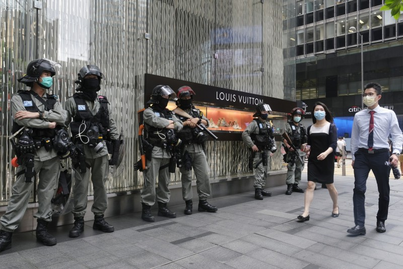 大灣區仍持續推動  中國歐盟商會:香港重要性正在減弱