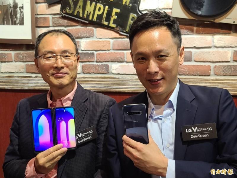 LG首款5G雙螢幕手機登台 全年銷量挑戰年增50%