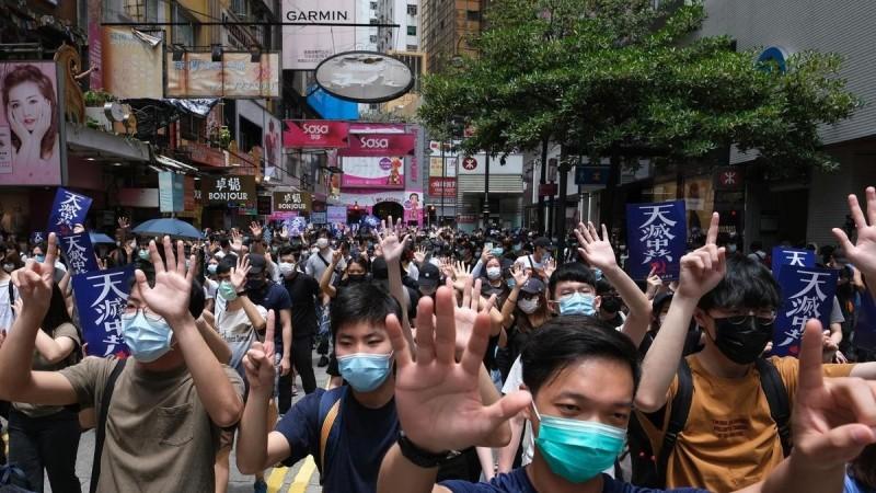 中國硬推港版國安法 恐導致香港人才出走、跨國企業難留