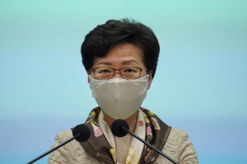 反嗆美雙重標準 林鄭月娥稱對港制裁「損人不利己」
