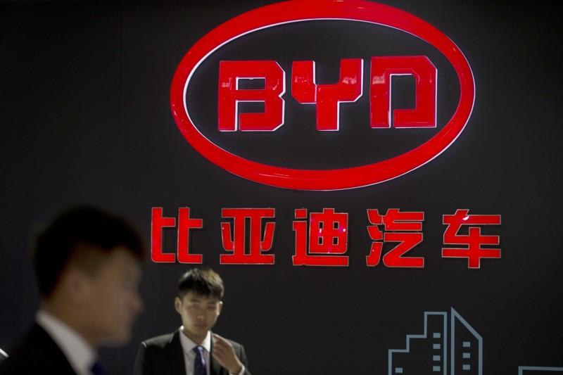 比亞迪口罩 落漆的中國製造