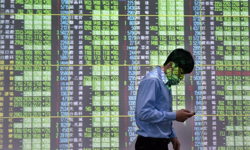 台股開低  盤中跌幅收斂   外資買超34萬張富邦VIX