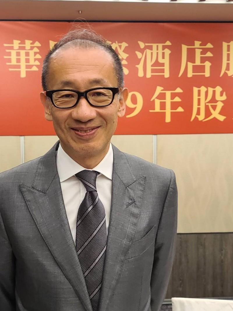 晶華潘思亮:國旅起來 觀光飯店住房率依舊是10%