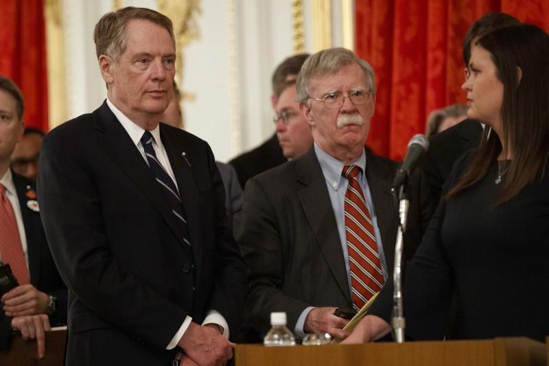 波頓爆川普曾求習近平助連任 美貿易代表:完全不實