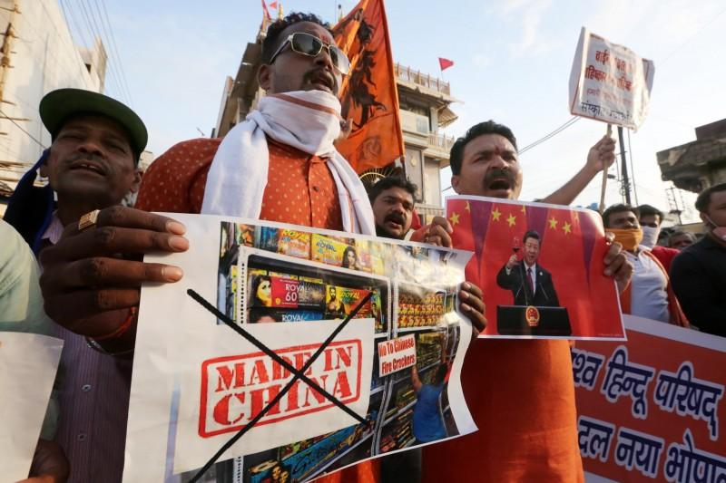 中印衝突擴大! 外媒:印度擬對中國商品加稅