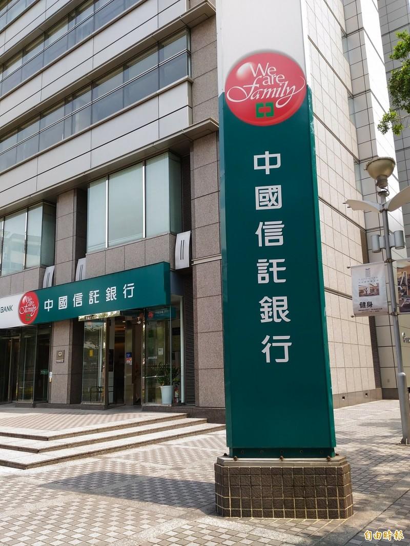 中國信託統籌主辦群創光電375億元聯貸案