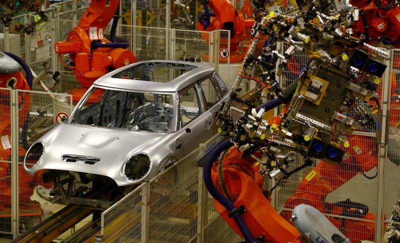 英國汽車業慘!產量月增近27倍 仍是逾75年低點