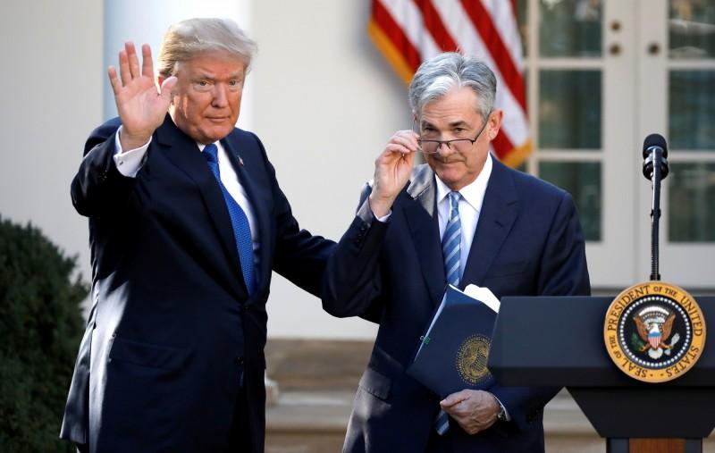 疫情使Fed大規模降息 川普對鮑爾越來越滿意