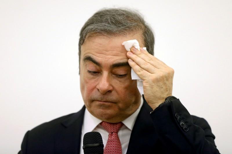 日產高恩潛逃至黎巴嫩 日本要求美國引渡前綠扁帽幫兇