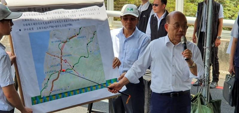 蘇貞昌參訪竹科X基地 宣布國發會審查通過182.3億元預算