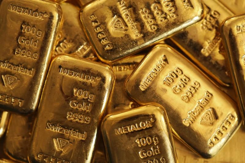 疫情憂慮上升 黃金漲近12美元