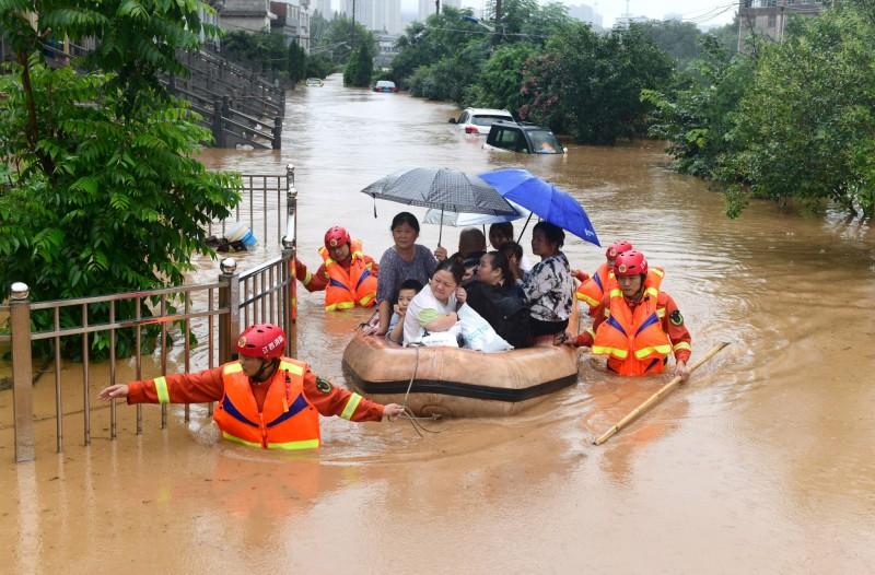 江西洪災逾697萬人受災 經濟損失突破808億元