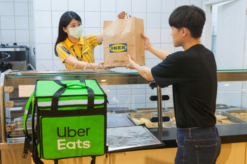 全球首發 台灣 IKEA餐廳加入外送平台