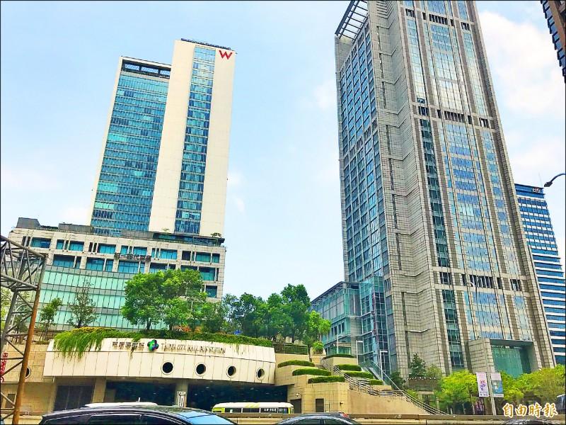 第16樓每坪賣近180萬 信義區統一國際大樓創商辦新高價