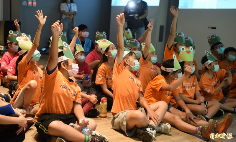 日月光辦兒童環境教育成長營  培育60名水資源保育種子