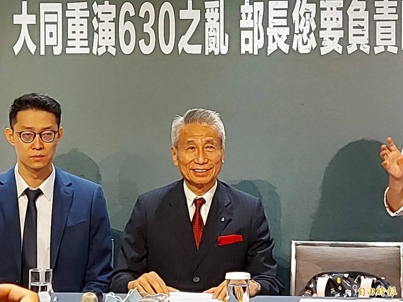 大同市場派王光祥:不擔任大同董事長 推林文淵組團隊