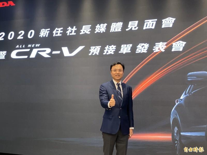 Honda CR-V休旅車小改款  入門款百萬元有找