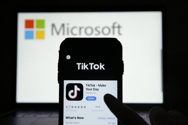 是否收購TikTok?微軟內部投票 逾6成員工表反對