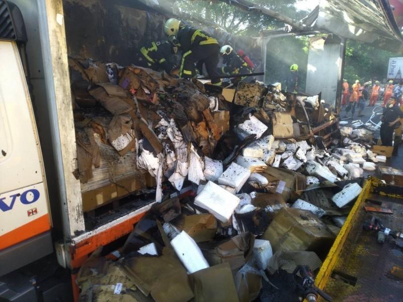 2萬件隔離衣運送途中燒毀 聚陽:快速補足不影響防疫