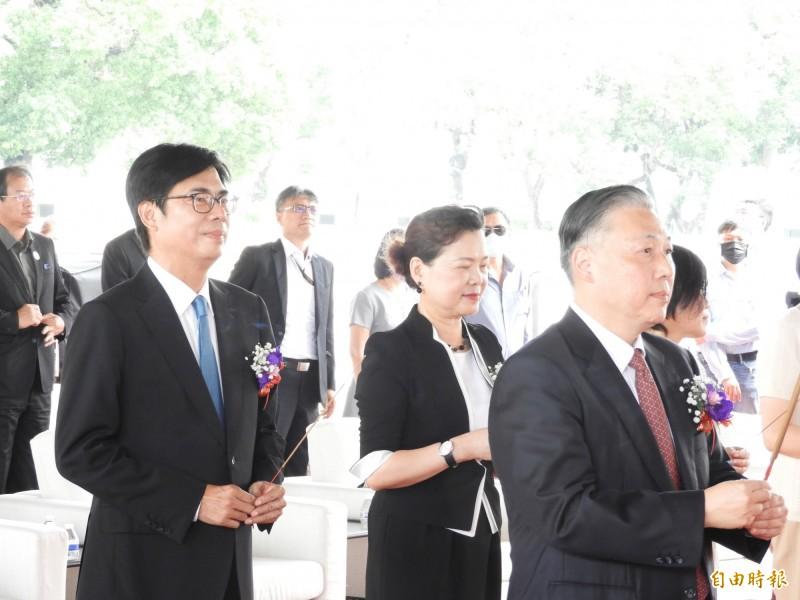 260億日月光K13廠動土 陳其邁讚:投資台灣 目前是最好時機