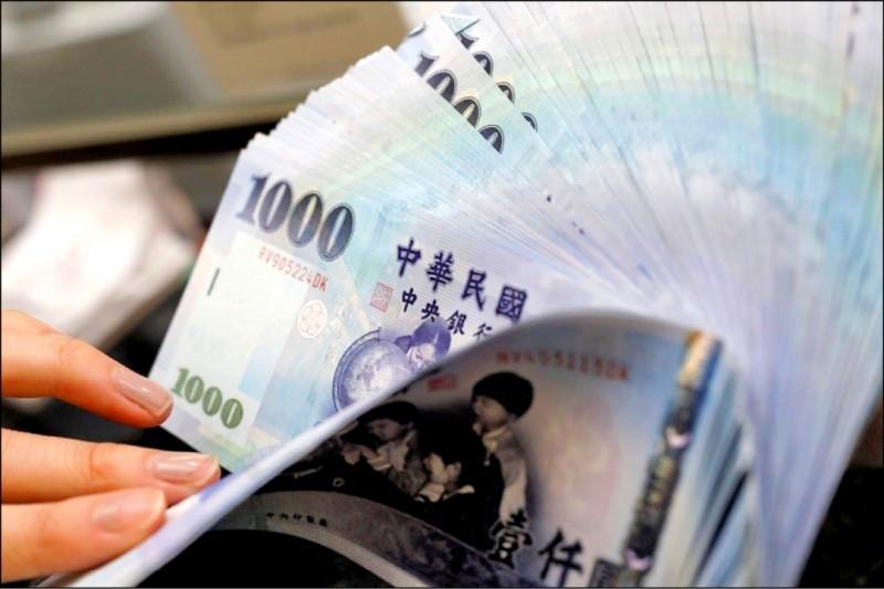台幣微升0.5分 收29.521元