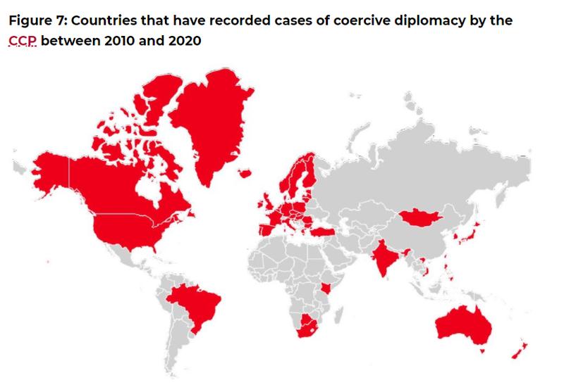 中國惡霸行為應重視 澳智庫:82.7%外國企業都跪了