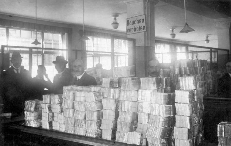 全球通膨史2》德國狂印鈔付一戰賠款  民生凋敝埋二戰種子