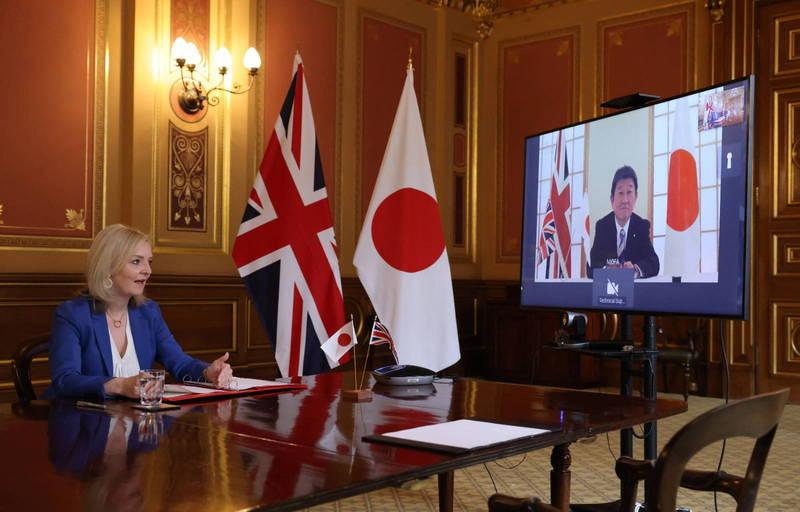 脫歐後首例!英國及日本大致達成貿易協議