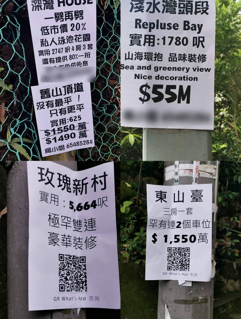 驚見山頂豪宅拋售潮 親北京的她:反映富豪對香港死心