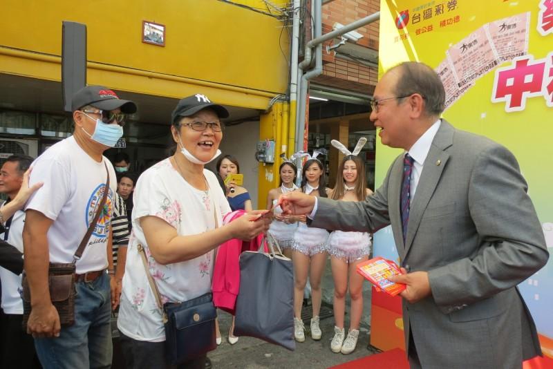 中市今年開出5次大樂透頭獎 台彩:今年特別旺是幸運寶地