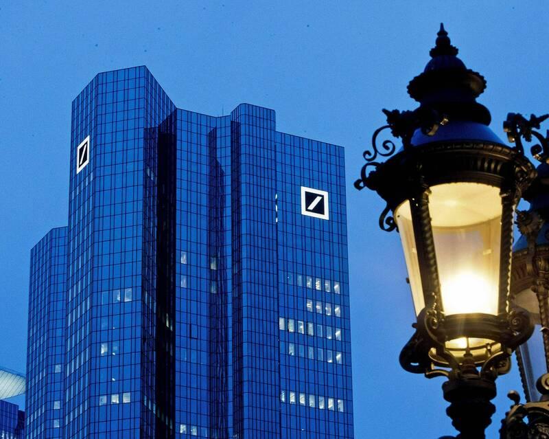 數位化浪潮席捲全球  德銀將關閉國內2成分行