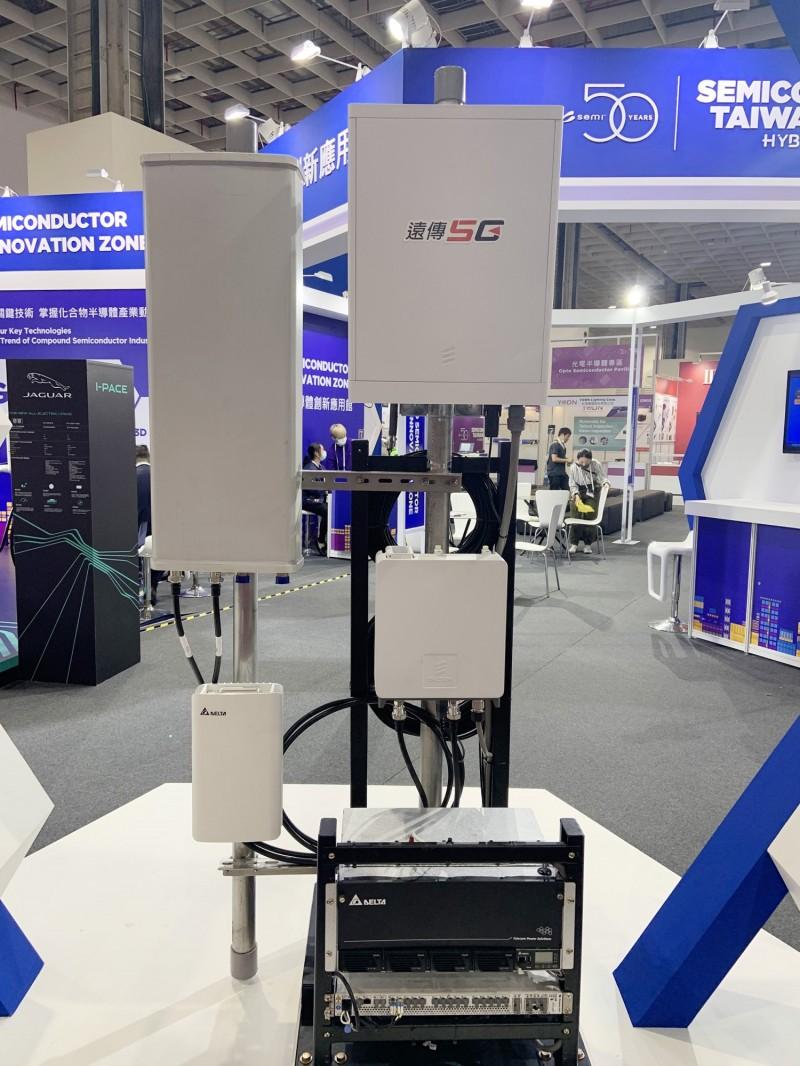 台達電攜遠傳 SEMICON Taiwan展出5G通訊電源模塊