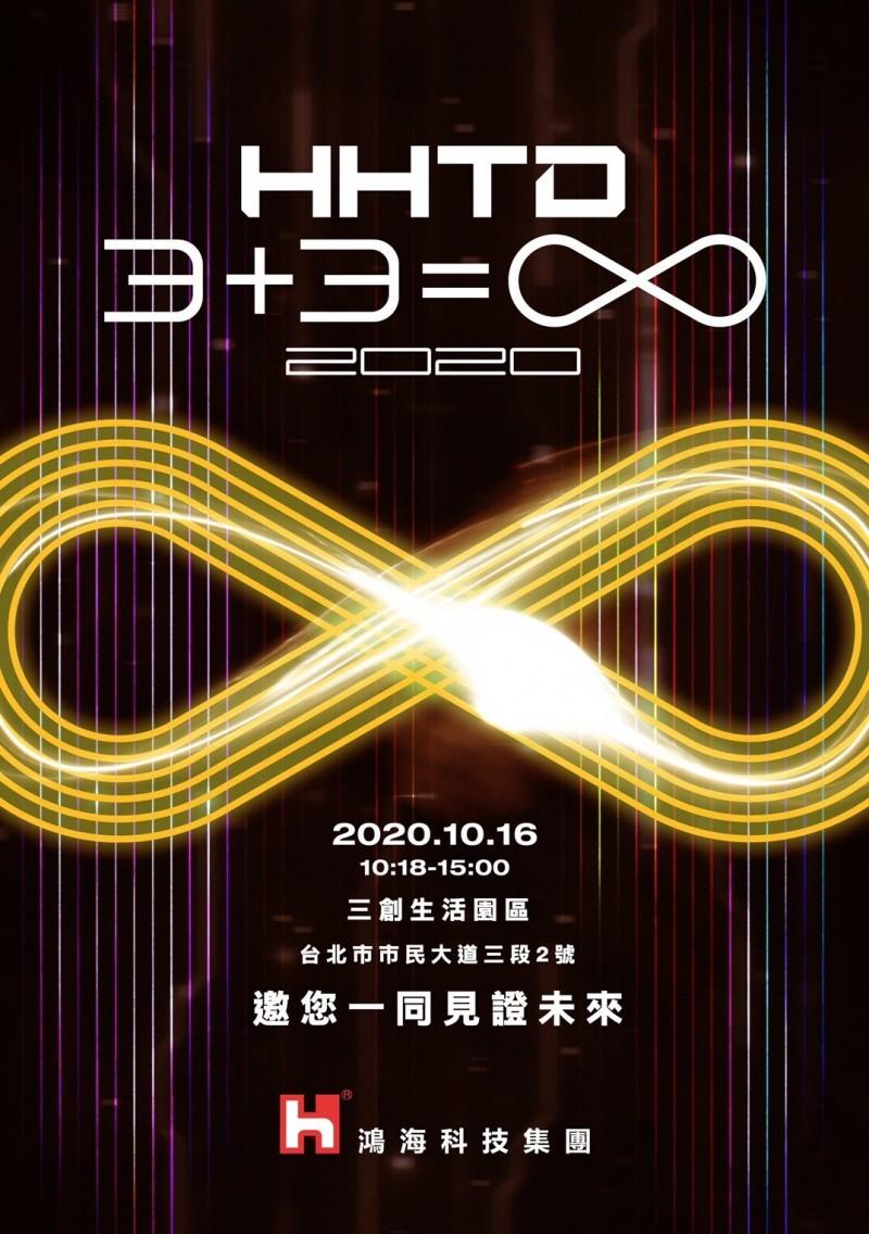 10月16日鴻海科技日 3+3=∞展現轉型決心