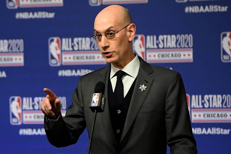 中國業務受質疑  NBA主席:是否撤出應由政府決定
