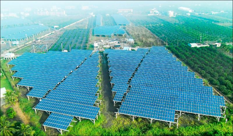農委會與光電業達共識 太陽能種電有解