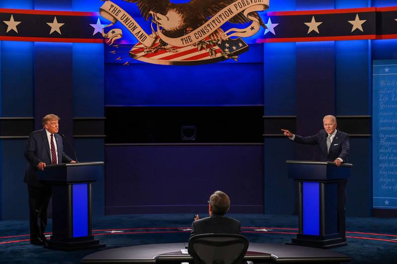 首場辯論民調出爐 CNN:6成民眾認為拜登表現贏川普
