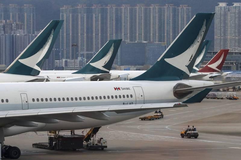 國泰航空傳明天起裁員約4000人 公司:恕不評論