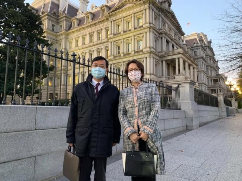 陳正祺、蕭美琴前進白宮? 合影地點藏玄機