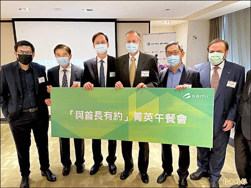 半導體業問會幫台灣找疫苗嗎?酈英傑:持續努力中